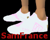 Puma Shoe White and Pink