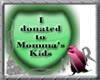 Donate to tha kids-green