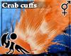 [Hie] Crab cuffs