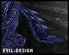 #Evil Blue Wolf Tail