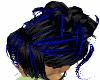 [JAC] Haare blau/schwarz