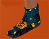 Scarecrow Socks flat 2 F