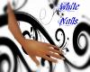 TVS Dainty white nails