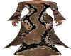 Snake Skin LP Long Dress