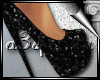 d3✠ Glitter Heels Blac