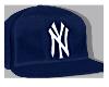 Blue Yankees Snapback