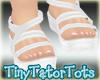 Summer Sandals White