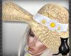 [CS] Daisy Straw Hat