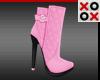 Pink Fashion Boots
