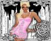 {E}Pink Mini Dress