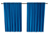 Jag-Blue Curtains
