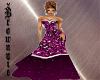 XXL Purple Rain Gown