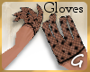 G- Black Lace Gloves