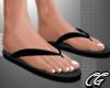 CG   Flip FLops Black