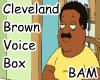 Cleveland Brown VB