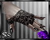 Ss:Blk Lace Gloves&Nails