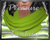 ~PF~ Scarf Chartreuse