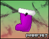 (*Par*) Purple Stocking