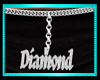 Diamond belly chain
