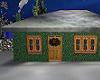Green Christmas Home