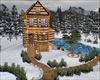Log Winter Home