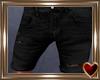 T♥ Ripped Shorts Black