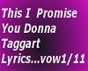 This I promise  lyric