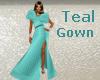 Ballroom Teal Gown