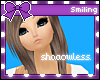 $. Blue Shadowless