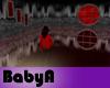 BA Galaxy Room Red Night