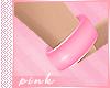 PINK-Bangles Pink L