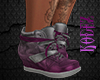 Sneaker Silver Pink