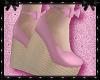 Musk Pink Wedge