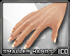 ICO Smaller Hands F