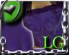 Purple Flower Top LG