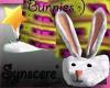 *S Bunny Slippers P