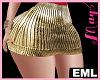 EML Bimbo Skirt  Gold Nt