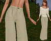 TF* Baggy Cream Pants