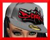!S!BGIRL $ CAP REDGRAY