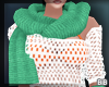 Lime Scarf & Glove
