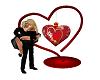 Valentine Heart Kiss