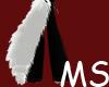 MS snow white tail