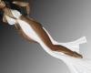 Sensual White Dress RL