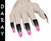 black pink gray long