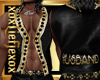 [L] HUSBAND Gold Vest M