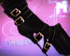 ♚ Black gold Boots