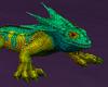 Male Iguana Teal