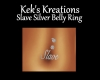 Slave Silver Belly Ring