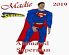 Animated Superman Statue