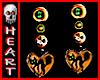 Halloween Earrings Cats